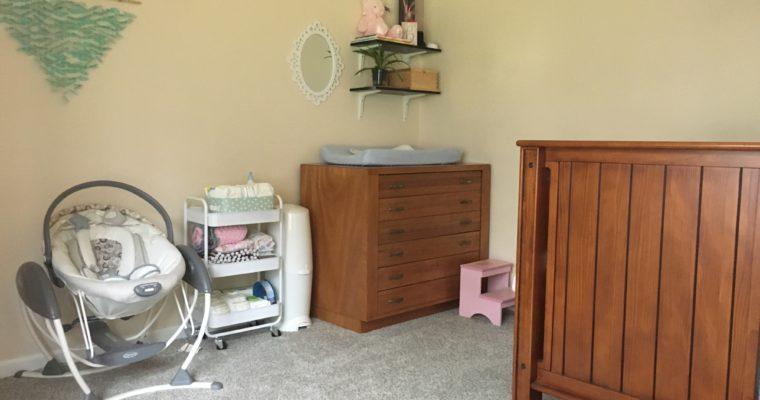 Baby Girl Nursery On A Budget