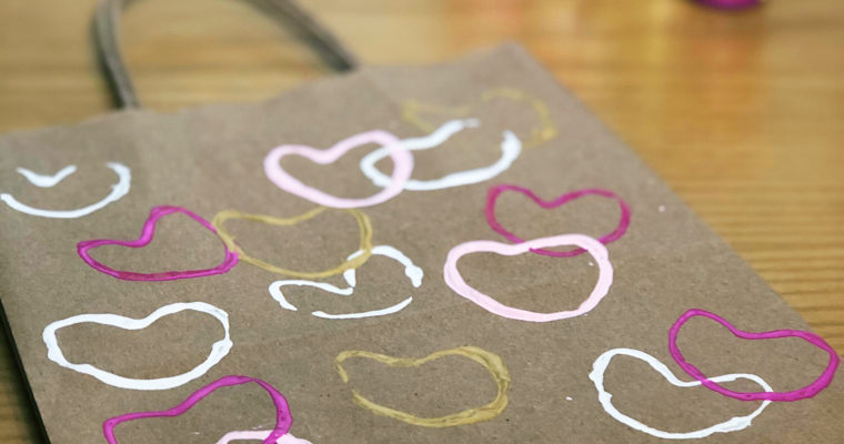 DIY HEART STAMP