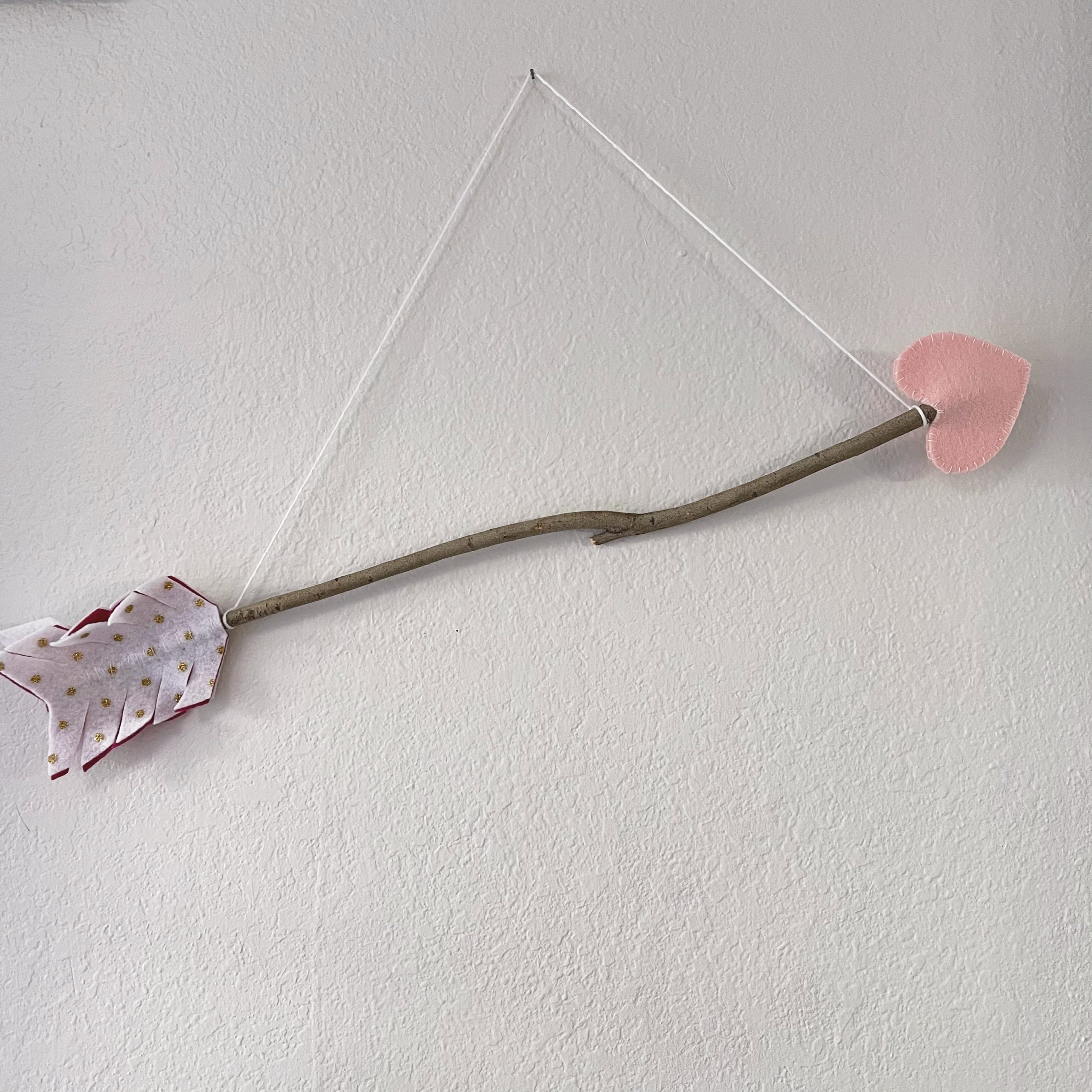 DIY Cupid's Arrow